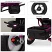 Детский трехколесный велосипед Turbo Trike M 3115HA-18L ФУКСИЯ ЛЁН с USB