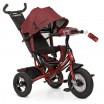 Детский трехколесный велосипед Turbo Trike M 3115HA-3L КРАСНЫЙ ЛЁН с USB