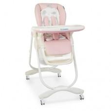 Детский стульчик для кормления Dolce M 3236 Sweet Pink