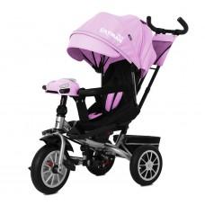 Детский трехколесный велосипед TILLY CAYMAN T-381/3 с пультом Розовый