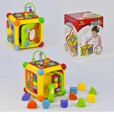 Развивающий игровой куб 3838