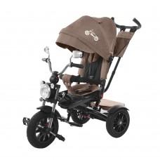 Детский трехколесный велосипед TILLY TORNADO T-383 Коричневый