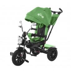 Детский трехколесный велосипед TILLY TORNADO T-383 Зеленый