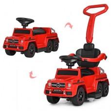 Детский электромобиль толокар 2в1 M 3853EL-3 с MP3