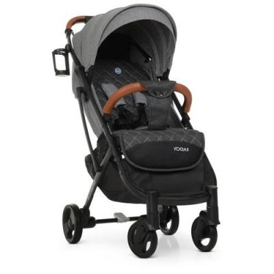 Детская прогулочная коляска M 3910 YOGA II Iron Gray