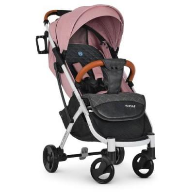 Детская прогулочная коляска M 3910 YOGA II Pale Pink-W