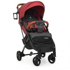 Детская прогулочная коляска M 3910 YOGA II Carmine Red