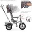 Детский трехколесный велосипед M 4058HA-23S Turbo Trike с поворотным сидением и USB ЗВЁЗДЫ