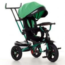 Детский трехколесный велосипед M 4058HA-4 Turbo Trike с поворотным сидением ЗЕЛЕНЫЙ
