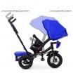 Детский трехколесный велосипед M 4060 Turbo Trike ИНДИГО с USB, поворотным сидением + пульт