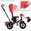 Детский трехколесный велосипед M 4060 Turbo Trike КРАСНЫЙ с USB, поворотным сидением + пульт