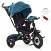 Детский трехколесный велосипед M 4060HA-21T Turbo Trike ИЗУМРУД ТВИД с USB, поворотным сидением + пульт