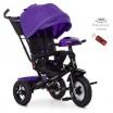 Детский трехколесный велосипед M 4060 Turbo Trike ФИОЛЕТОВЫЙ с USB, поворотным сидением + пульт