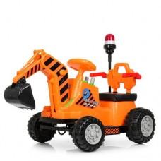 Детский трактор с ковшом M 4143L-7 с MP3