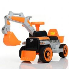Детский трактор с ковшом M 4144L-7 (2в1)