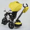Детский трехколесный велосипед Best Trike 4490-3948 поворотное сидение + пульт ЖЕЛТЫЙ