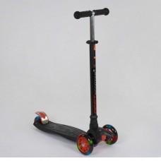 Детский трехколесный самокат 466-113 Best Scooter Maxi ЧЕРНЫЙ