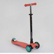Детский трехколесный самокат 466-113 Best Scooter Maxi ТЕРРАКОТОВЫЙ