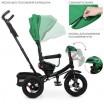Детский трехколесный велосипед M 5448HA-4 Turbo Trike ЗЕЛЕНЫЙ с поворотным сидением