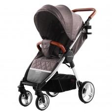 Детская прогулочная коляска CARRELLO Milano CRL-5501 Bisquit Beige + дождевик