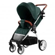 Детская прогулочная коляска CARRELLO Milano CRL-5501 Aqua Green + дождевик
