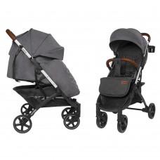 Детская прогулочная коляска CARRELLO Astra CRL-5505 Dolphin Gray + дождевик