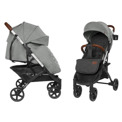Детская прогулочная коляска CARRELLO Astra CRL-5505 Snow Beige + дождевик