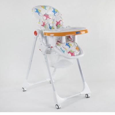 Детский стульчик для кормления JOY K-55448 Слоники