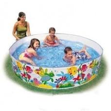 Детский каркасный бассейн 56452 Океан Intex