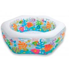 Детский надувной бассейн 56493 Intex Океанский Риф