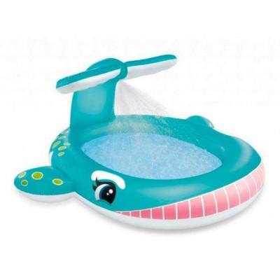 Детский надувной бассейн с фонтаном 57440 Intex Кит