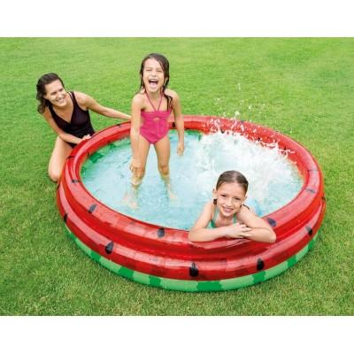 Детский надувной бассейн 58448 Арбуз