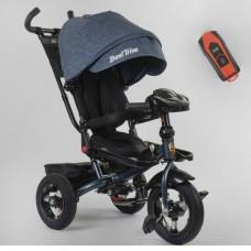 Детский трехколесный велосипед 6088 F -04-997 Best Trike с USB поворотное сидение + пульт ДЖИНС