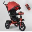 Детский трехколесный велосипед 6088 F -07-101 Best Trike с USB поворотное сидение + пульт КРАСНЫЙ