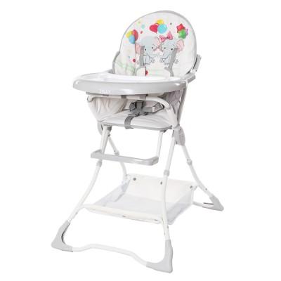 Детский стульчик для кормления TILLY Buddy T-633 White Elephants