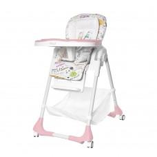 Детский стульчик для кормления TILLY Bistro T-641/2 Rose (водонепроницаемая ткань)