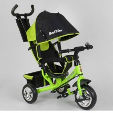 Детский трёхколёсный велосипед Best Trike 6588-13-260 САЛАТОВЫЙ