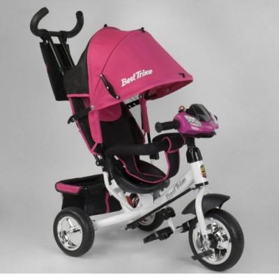 Детский трёхколёсный велосипед Best Trike 6588-22-815 РОЗОВЫЙ с фарой