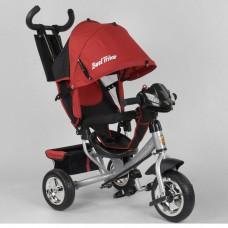 Детский трёхколёсный велосипед Best Trike 6588-24-545 КРАСНЫЙ с фарой
