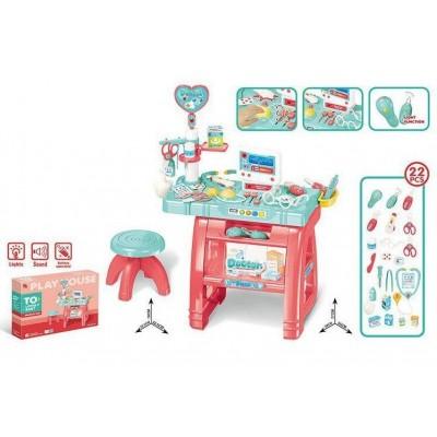 Детский игровой набор Доктора Врачебный кабинет 660-62