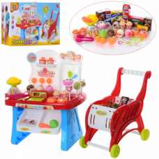 Детский игровой набор Магазин 668-42 с тележкой