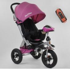 Детский трехколесный велосипед Best Trike 698-32-110 с USB РОЗОВЫЙ