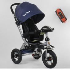 Детский трехколесный велосипед Best Trike 698-34-149 с USB СИНИЙ