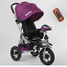 Детский трехколесный велосипед Best Trike 698-35-266 с USB ФИОЛЕТОВЫЙ