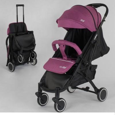 Детская прогулочная коляска 70541 JOY Vittoria алюминий