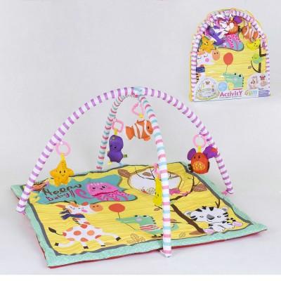 Детский развивающий коврик 717-8