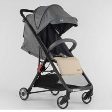 Детская прогулочная коляска JOY 71789 Серо-бежевая
