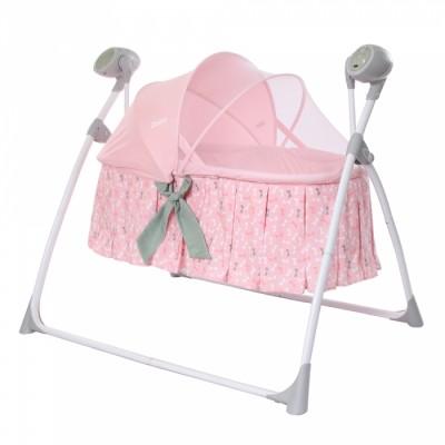 Детская люлька-качели Carrello Dolce CRL-7501 Bow Pink