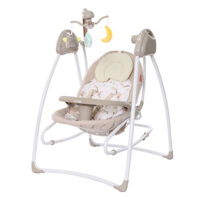 Детская колыбель-качели Carrello Grazia CRL-7502 Fall Beige