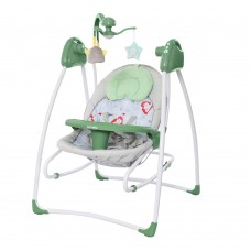 Детская колыбель-качели Carrello Grazia CRL-7502 Jade Green